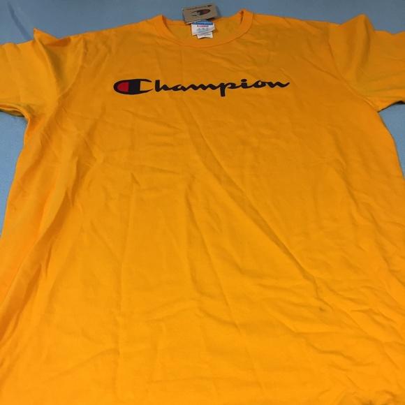 99195261 Champion Shirts   Nwt Short Sleeve Tshirt 405   Poshmark